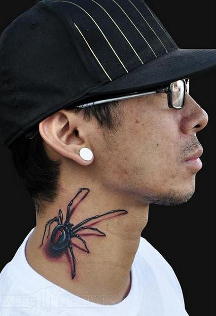 Tatuagens de aranhas (50)