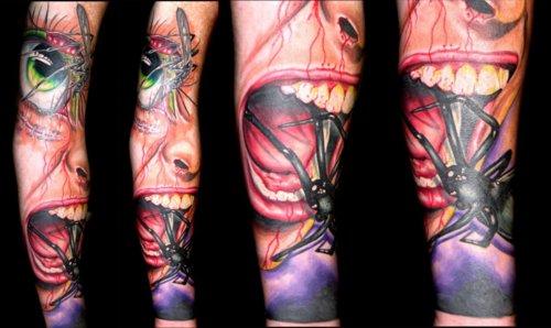 Tatuagens de aranhas (39)