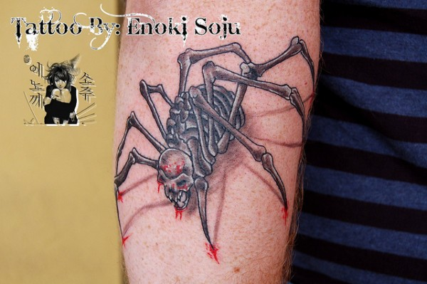 Tatuagens de aranhas (23)