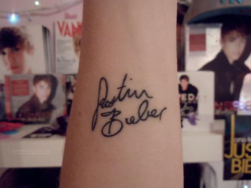 As tatuagens dos fãs de Justin Bieber (10)