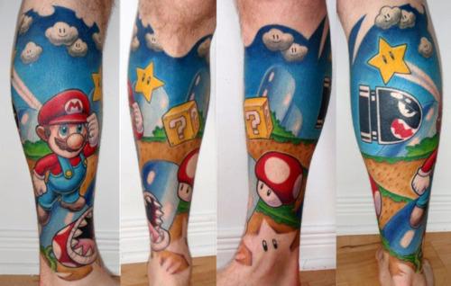 Tatuagens de Super Mário Bros (70)