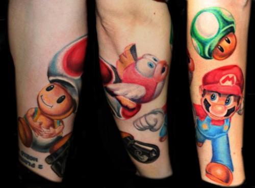 Tatuagens de Super Mário Bros (65)