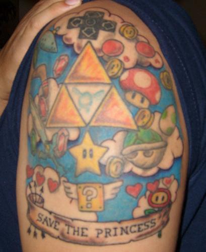 Tatuagens de Super Mário Bros (61)