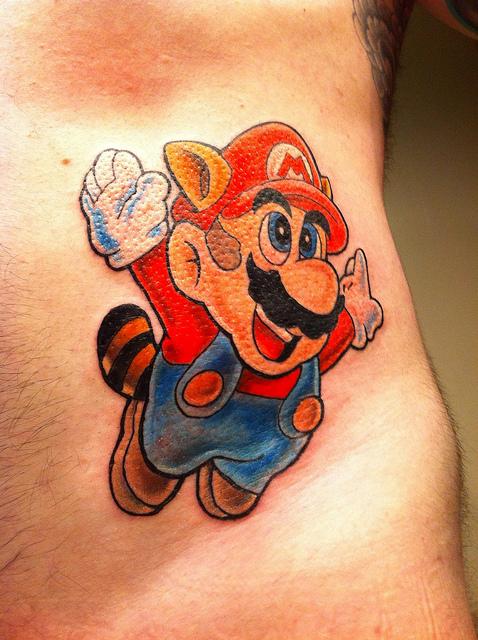 Tatuagens de Super Mário Bros (60)