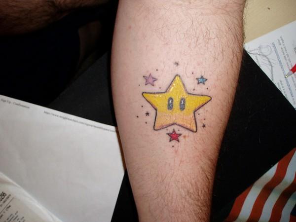 Tatuagens de Super Mário Bros (55)