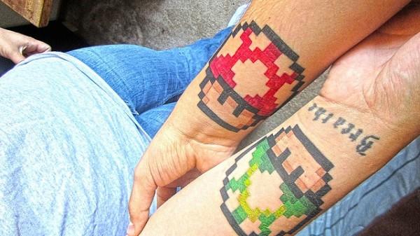 Tatuagens de Super Mário Bros (50)