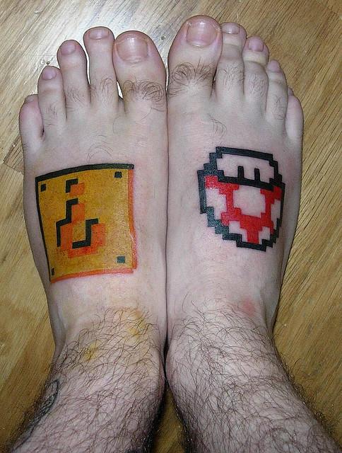 Tatuagens de Super Mário Bros (49)