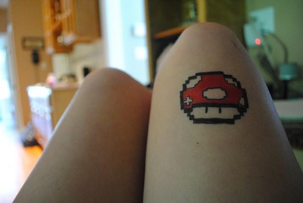 Tatuagens de Super Mário Bros (48)