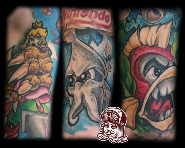 Tatuagens de Super Mário Bros (46)