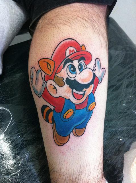 Tatuagens de Super Mário Bros (45)