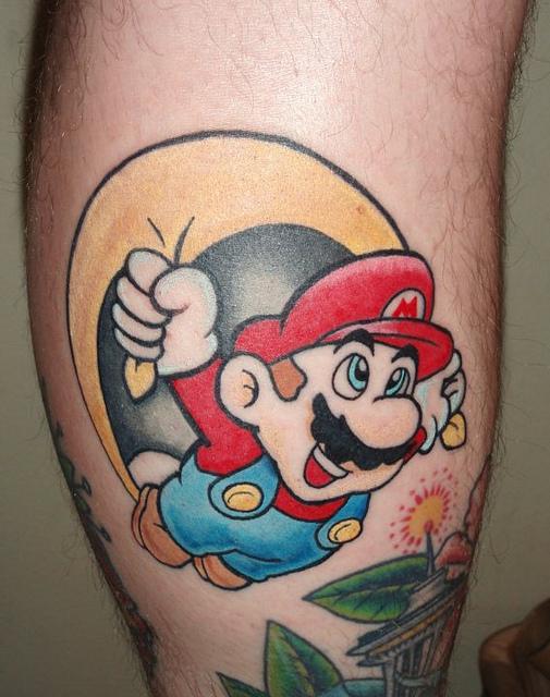 Tatuagens de Super Mário Bros (43)