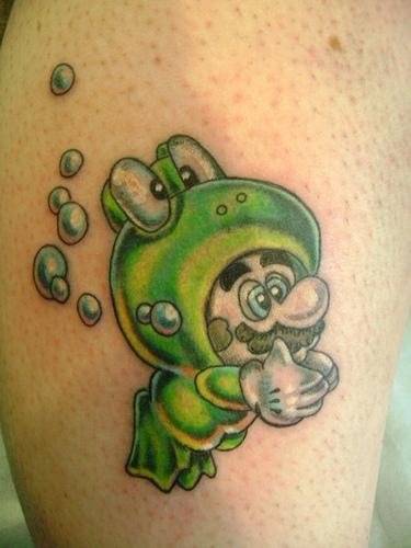 Tatuagens de Super Mário Bros (42)