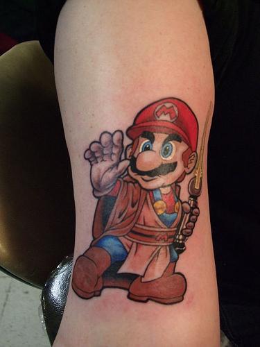 Tatuagens de Super Mário Bros (40)