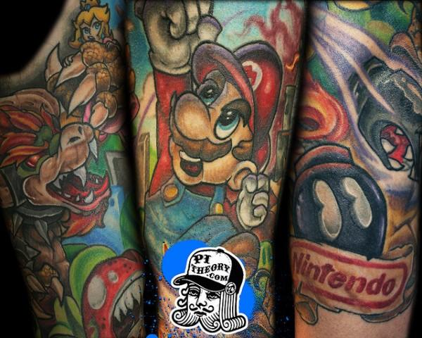 Tatuagens de Super Mário Bros (38)