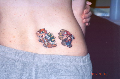 Tatuagens de Super Mário Bros (33)