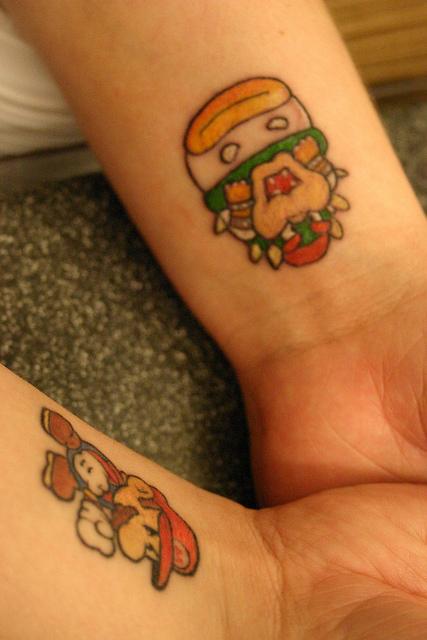 Tatuagens de Super Mário Bros (32)