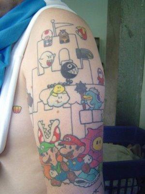 Tatuagens de Super Mário Bros (28)