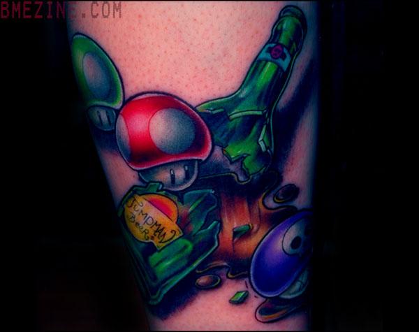 Tatuagens de Super Mário Bros (25)