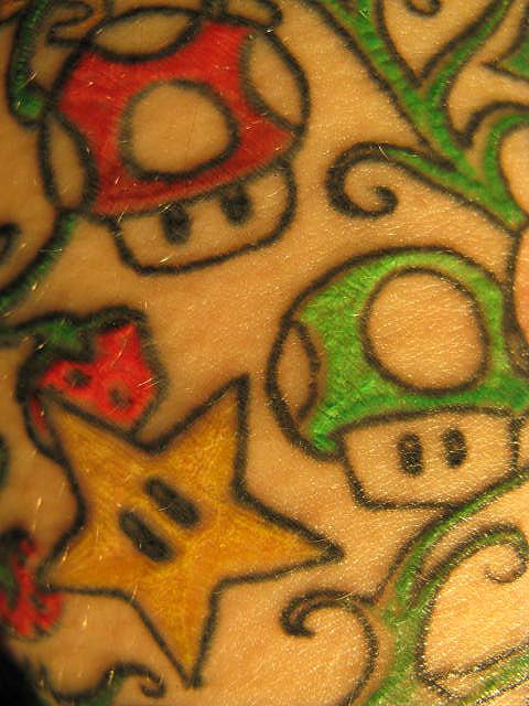 Tatuagens de Super Mário Bros (24)
