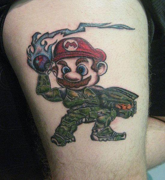 Tatuagens de Super Mário Bros (22)
