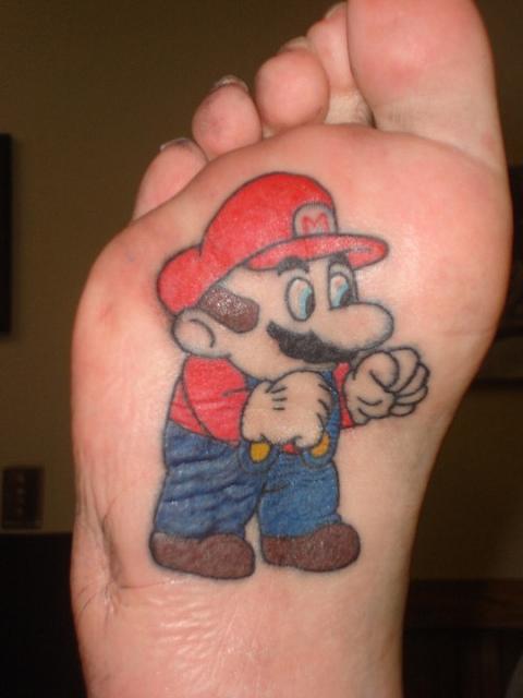 Tatuagens de Super Mário Bros (21)