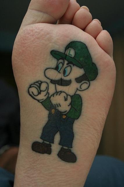 Tatuagens de Super Mário Bros (20)