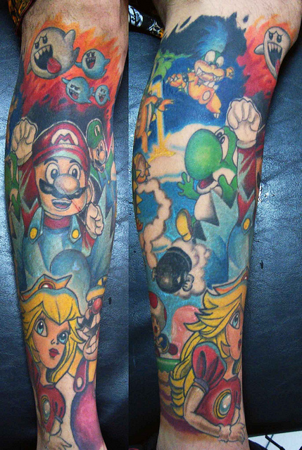 Tatuagens de Super Mário Bros (19)