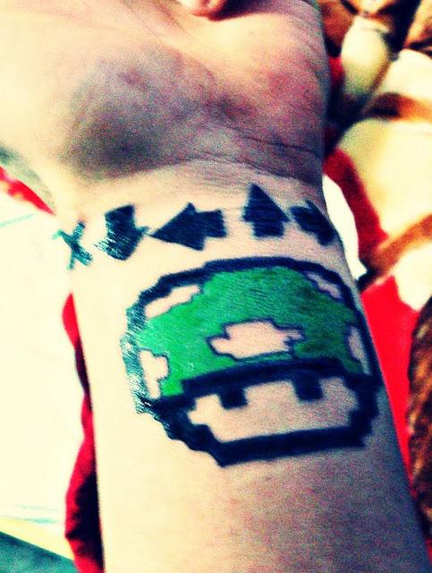 Tatuagens de Super Mário Bros (17)