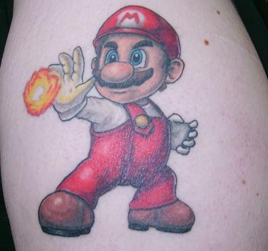 Tatuagens de Super Mário Bros (15)