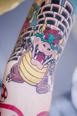 Tatuagens de Super Mário Bros (13)