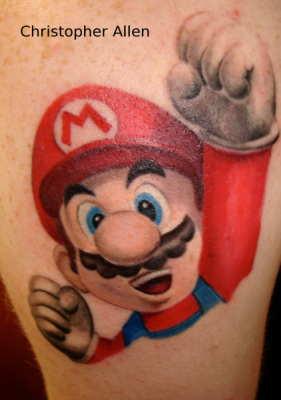 Tatuagens de Super Mário Bros (12)