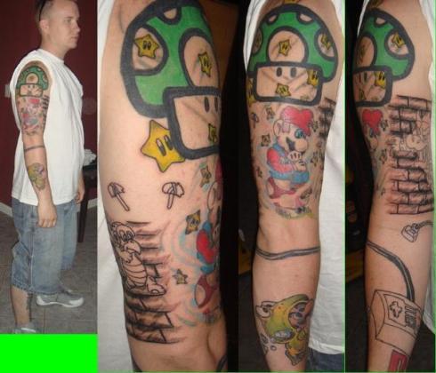 Tatuagens de Super Mário Bros (9)