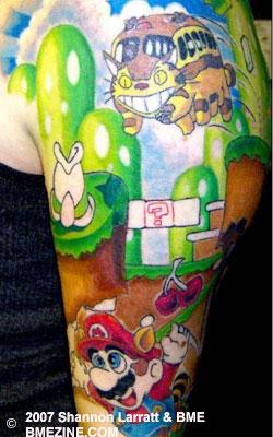 Tatuagens de Super Mário Bros (6)
