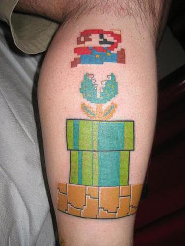 Tatuagens de Super Mário Bros (5)