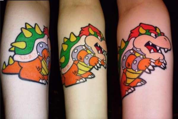 Tatuagens de Super Mário Bros (3)