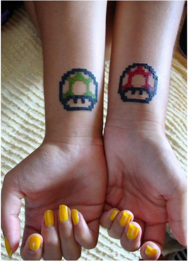 Tatuagens de Super Mário Bros (2)