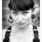 A beleza de Anna, uma Mod Girl Belga
