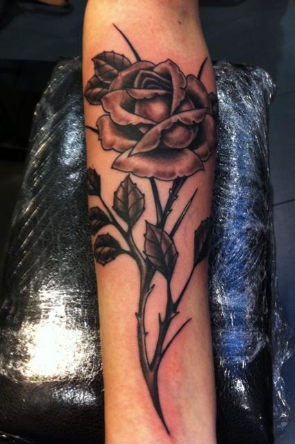 Fotos de tatuagens de rosas (42)