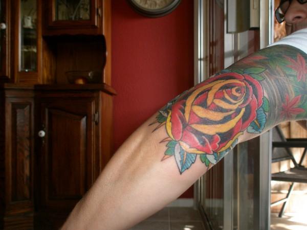 Fotos de tatuagens de rosas (40)