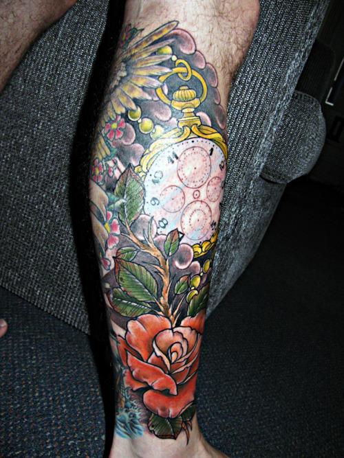 Fotos de tatuagens de rosas (38)