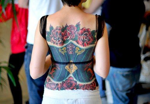 Fotos de tatuagens de rosas (36)