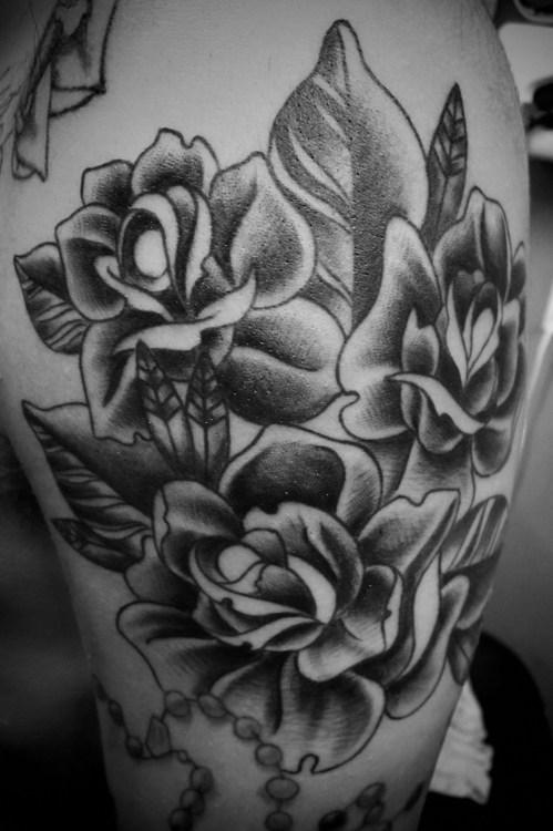 Fotos de tatuagens de rosas (28)