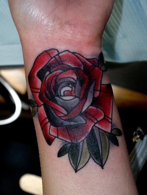 Fotos de tatuagens de rosas (24)