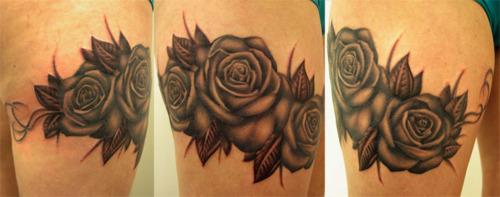 Fotos de tatuagens de rosas (22)