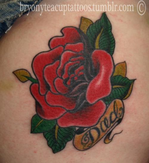 Fotos de tatuagens de rosas (19)
