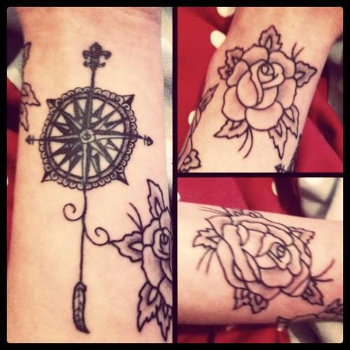 Fotos de tatuagens de rosas (15)