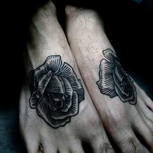 Fotos de tatuagens de rosas (7)