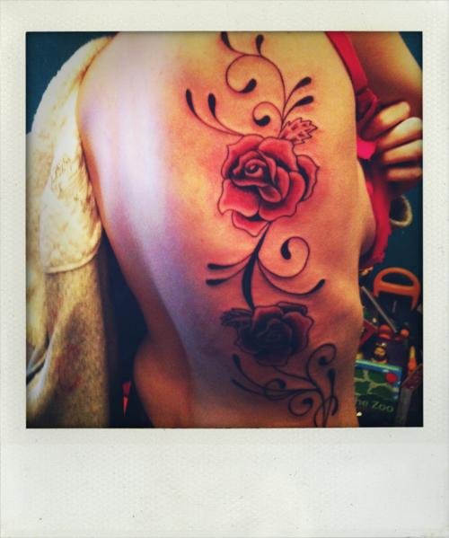 Fotos de tatuagens de rosas (6)