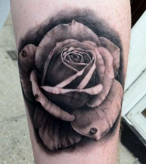 Fotos de tatuagens de rosas (4)