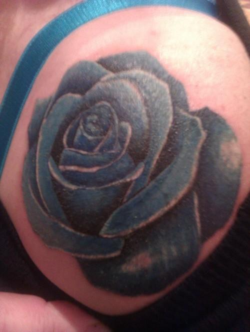Fotos de tatuagens de rosas (8)